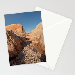 After the Rain - I, Valley_of_Fire Canyon, NV Stationery Cards