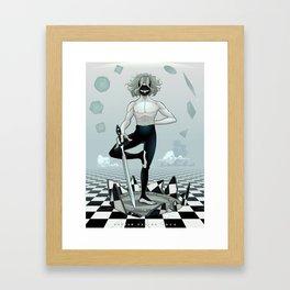 Don't believe in the World Framed Art Print