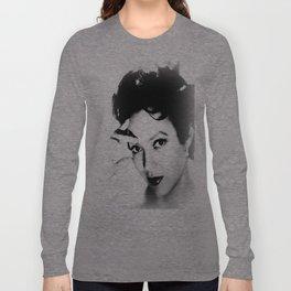 dorothy dandridge black & white photo Long Sleeve T-shirt