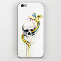 Adventure through Time and Face iPhone & iPod Skin