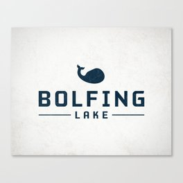 BOLFING LAKE Canvas Print