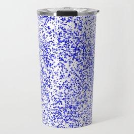 Blue Specks Travel Mug