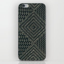 Black Assuit iPhone Skin
