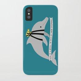Zissou Dolphin iPhone Case