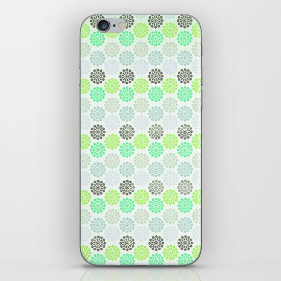 FLORAL 3 iPhone & iPod Skin