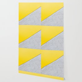 Yellow & Gray Abstract Background Wallpaper