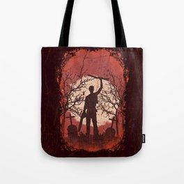 Ash Graves Tote Bag