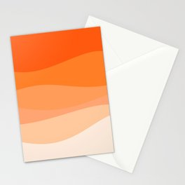 Creamsicle Dream - Abstract Stationery Cards