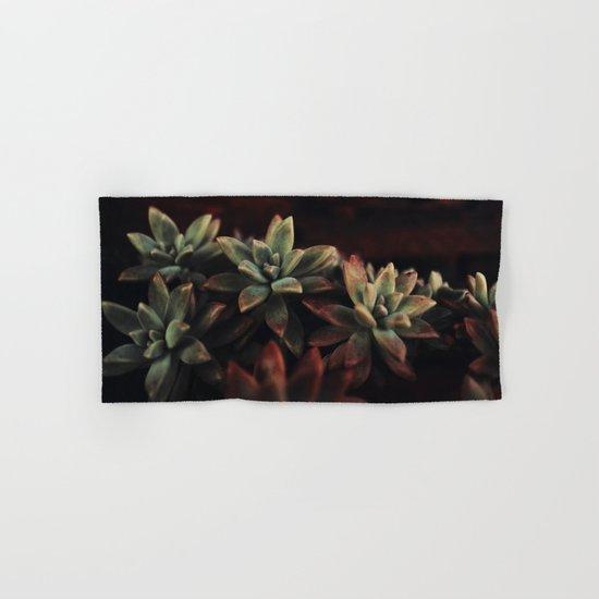 succulent cactus Hand & Bath Towel