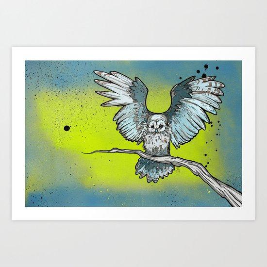 Stirgi the Owl Art Print