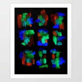 160122 Summer Shadows #76 Art Print
