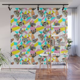 Army Of Cats Wall Mural