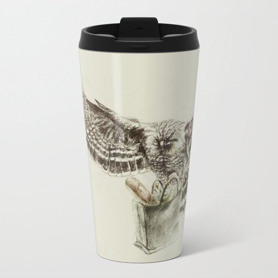 Eagle Metal Travel Mug
