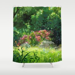 The Age of the Ocean Shower Curtain
