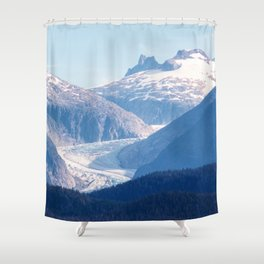 The River of Ice Shower Curtain