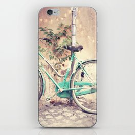 Bicycle Lights iPhone Skin