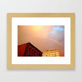 Hell's Kitchen Rainbow Framed Art Print