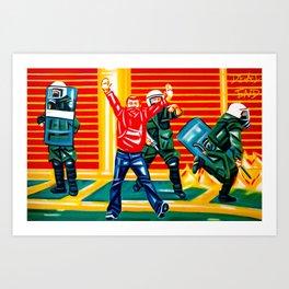 Sweet freedom Art Print