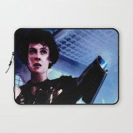 "Sigourney Weaver. In the movie ""Aliens"" Laptop Sleeve"