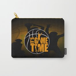 It's Game Time - Yellow Carry-All Pouch