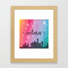 Velaris City Scape Framed Art Print