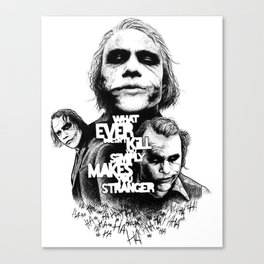 Agent of Chaos Canvas Print