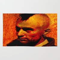 robert farkas Area & Throw Rugs featuring ROBERT D. by Joe Ganech