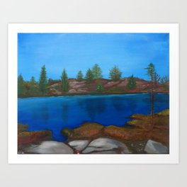 The Barrens, Muskoka Road 13 Art Print