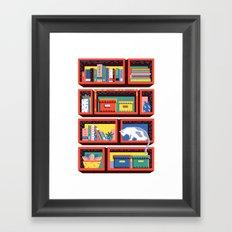 Shelving Units 01 Framed Art Print