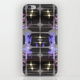stars center iPhone Skin