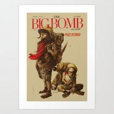 Newborn Army Art Print