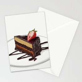Peanut Butter Cake Stationery Cards