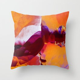 Ride the Heatwave Throw Pillow