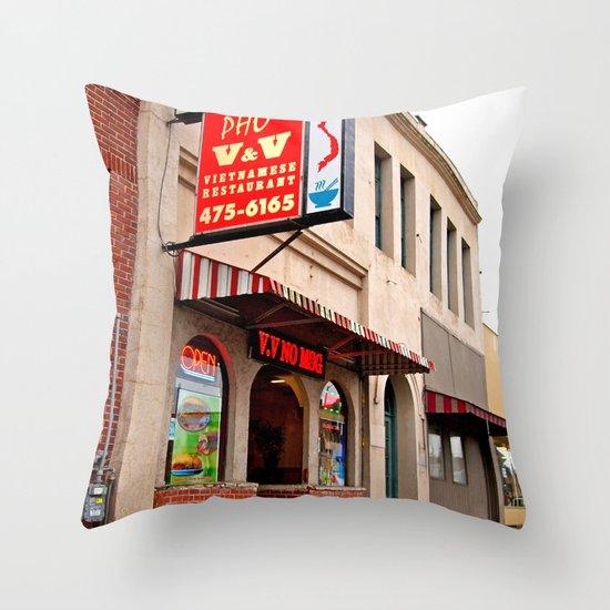 Vietnamese restaurant Throw Pillow
