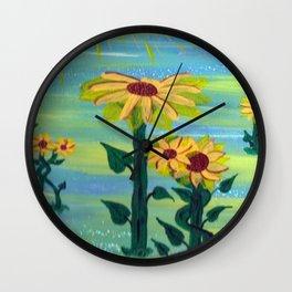 sonflowers Wall Clock