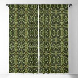 Green lava Blackout Curtain