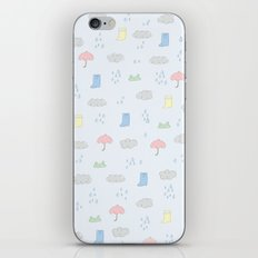 Rainy day iPhone & iPod Skin