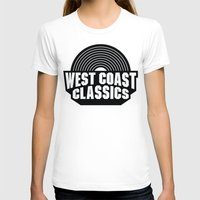 west coast T-shirts featuring West Coast Classics by Popp Art