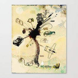 Male Dream Codec Canvas Print