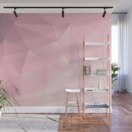 Pink Polygon 2019 Wall Mural