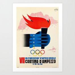 Cortina d'Ampezzo Art Print