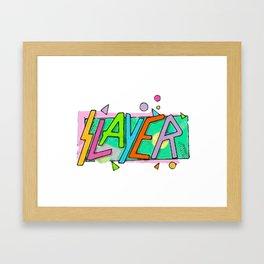 Beachslayer! Framed Art Print