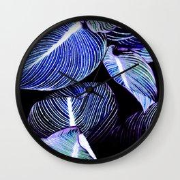 Unbridled - opalescent Wall Clock