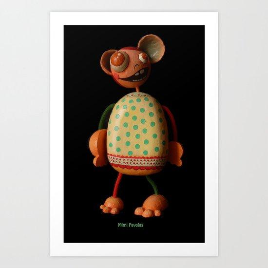 Mimi Favolas Art Print