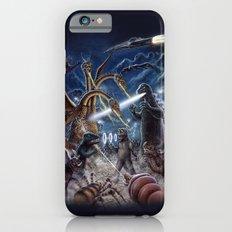 Godzilla Destroy all Monsters Monster Island Kaiju battle Slim Case iPhone 6s