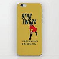 STAR TWERK iPhone & iPod Skin