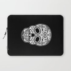 Mexican Skull - Black Edition Laptop Sleeve