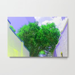 Cartoonish Metal Print