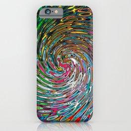 Vortex of Colours iPhone Case