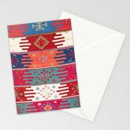 Kurdish Malatya East Anatolian Saf Kilim Print Stationery Cards